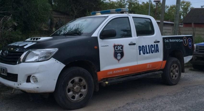 patrulla policial madariaga