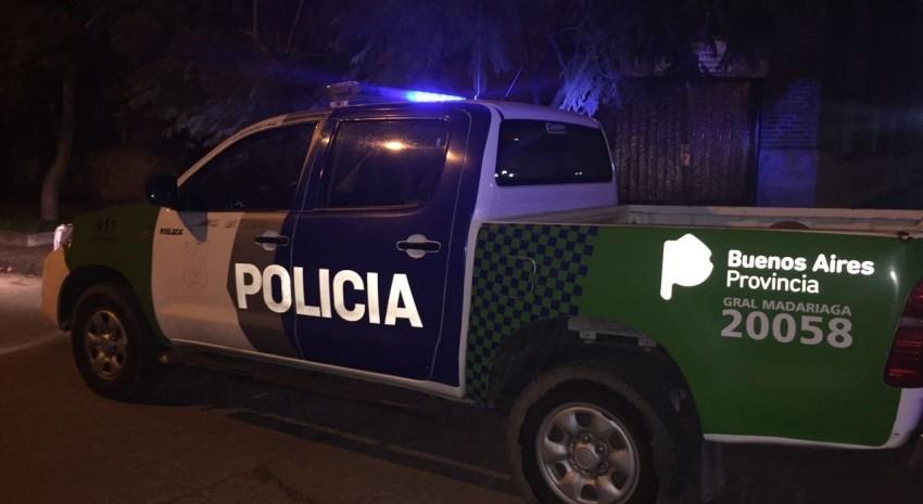 Patrulla policial nocturna general madariaga