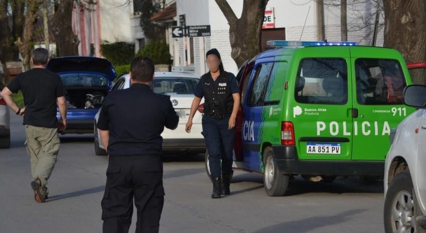 Patrulla policial procedimiento