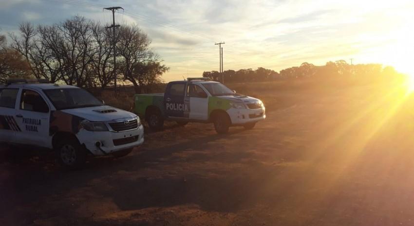patrullas en zona rural