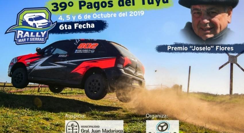 El Rally Pagos del Tuyú. ¿Cuáles serán los primes y sus horarios?