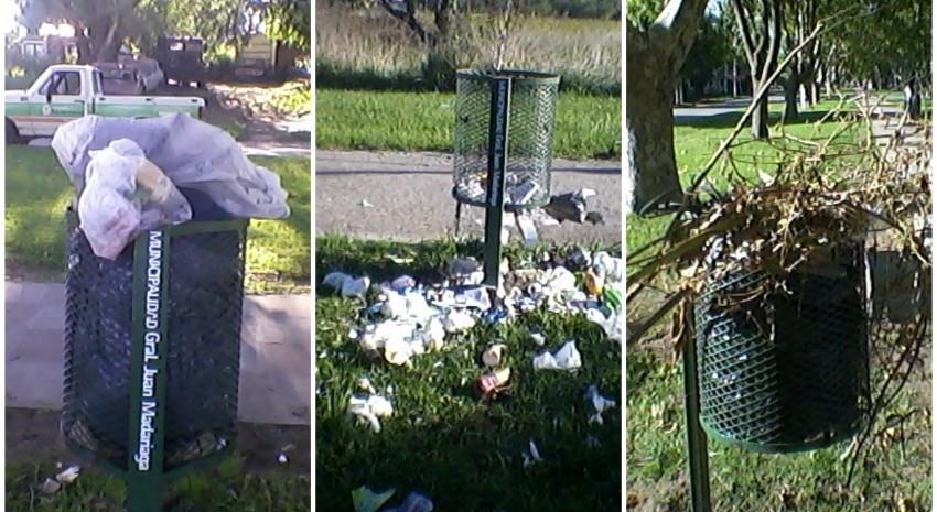 residuos en via publica