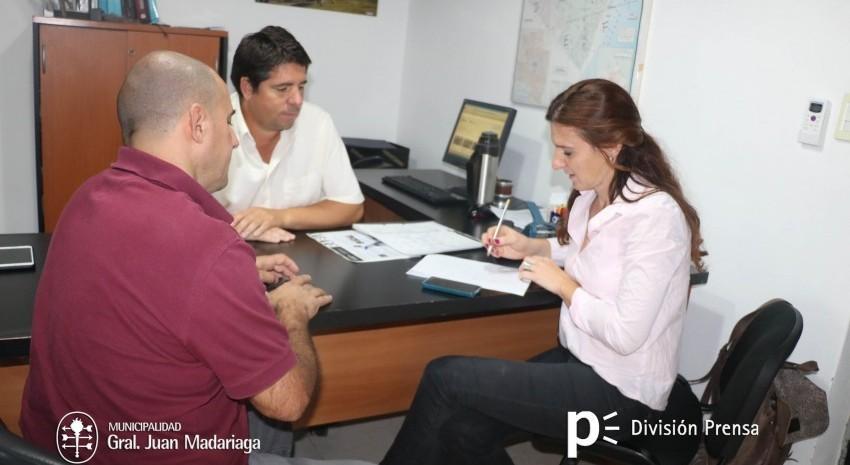 Cottinni gestionó nuevas capacitaciones para Madariaga