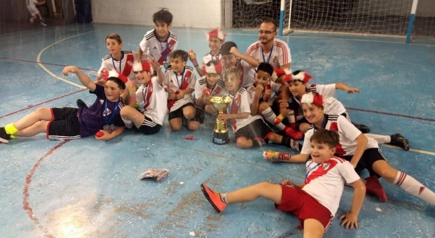 Futsal: River superó a Don Bosco y se consagró campeón de la Copa Madariaga