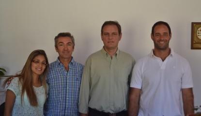 Santoro visitó la Delegación Municipal del Frente de Ruta