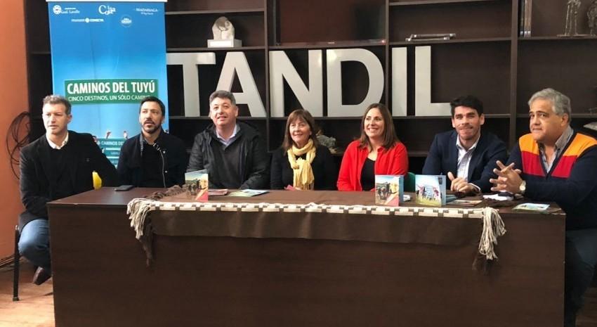 Caminos del Tuyú se presentó en Tandil
