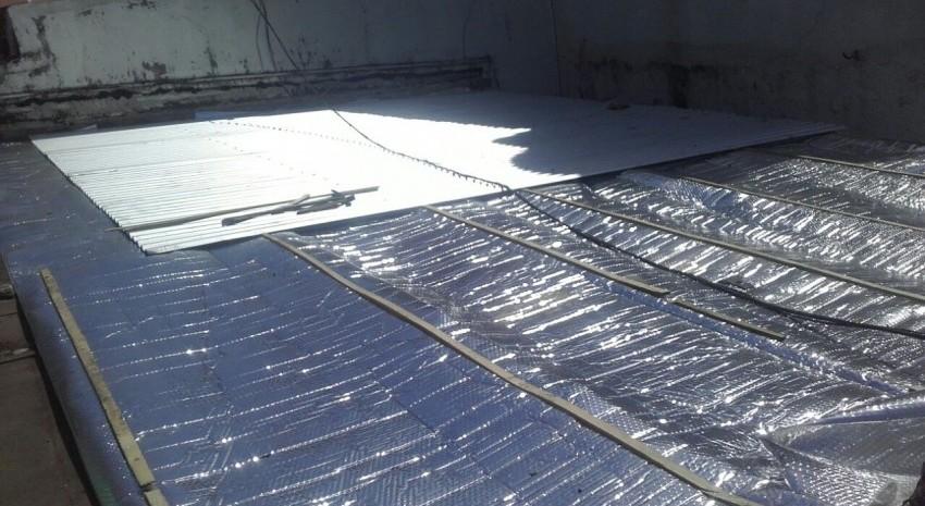 Casa del estudiante en Mar del Plata: avanza la obra de reparaci�n del techo