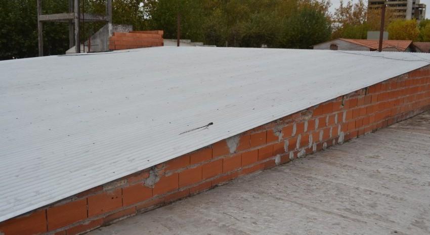 techo de la terminal