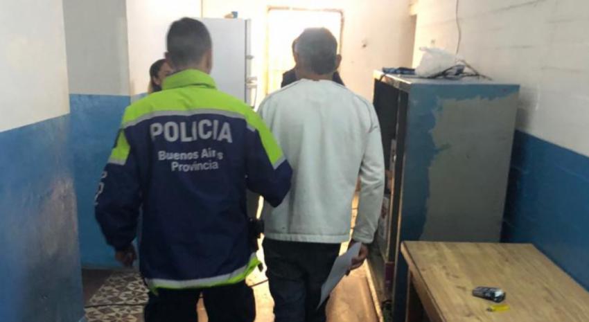 Traslado de detenidos Comisaria General Madariaga