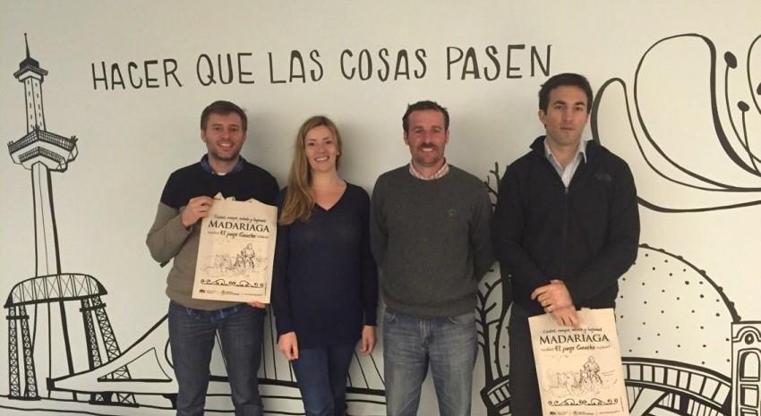 Madariaga gestiona su presencia en proyectos del ente tur�stico de la ciudad de Buenos Aires