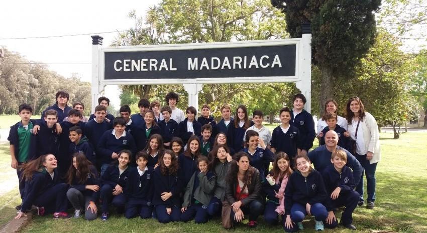 Visita guiada: Alumnos de Pinamar recorrieron la ciudad