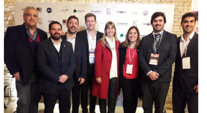 Madariaga participó de la apertura del Congreso de Gestión e Innovación Hotelero Gastronómico
