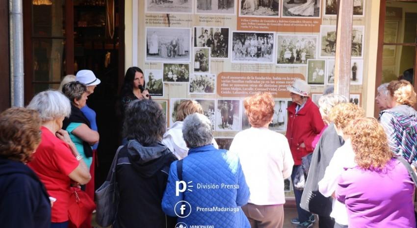 Más de 100 turistas arribaron hoy a Madariaga