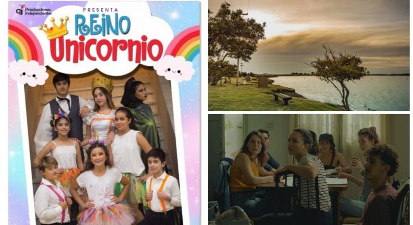 Viernes de teatro, cine y laguna