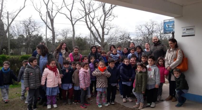 Alumnos del Jardín 901 visitaron las instalaciones del Centro Integrador Comunitario