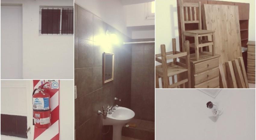 Instalaron el nuevo mobiliario y sistema de seguridad en la casa del estudiante de Mar del Plata
