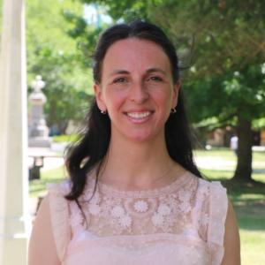 Directora de Museos Luciana Balbín