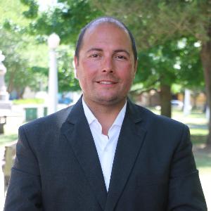 Director de Defensa Civil Marcelo Roberto López